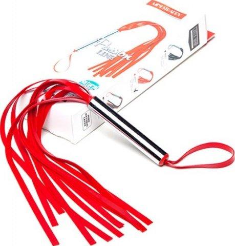 Мини-плеть с лентами (красная), фото 4