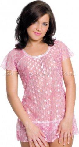 Сорочка с трусиками /роз