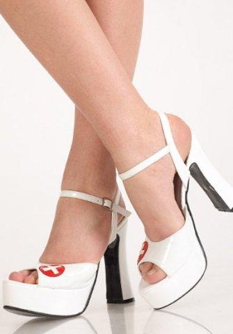Туфли белые медсестра 39 р