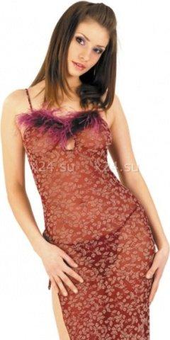 Платье со стрингами