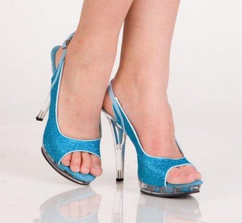 Туфли синие 38 р