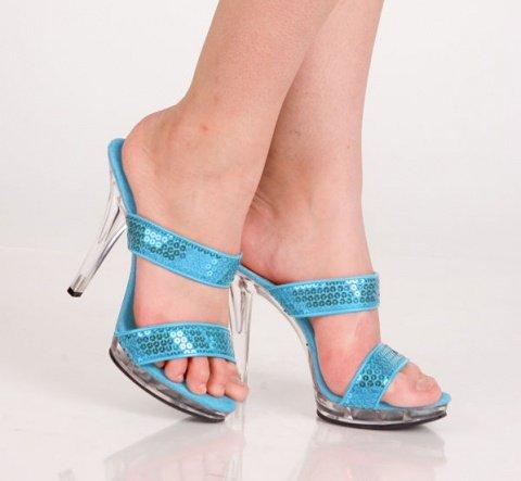 Туфли синие 37 р, фото 2