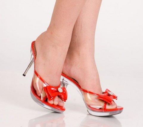 Туфли красные 38 р
