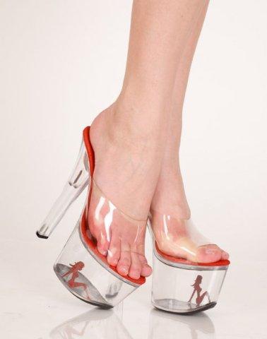 Туфли прозрачный 36 р