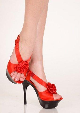 Туфли красный 36 р