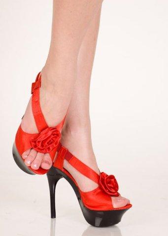 Туфли красный 38 р, фото 2