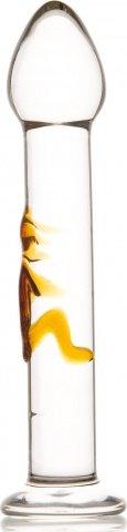 Стимулятор стеклянный с узором