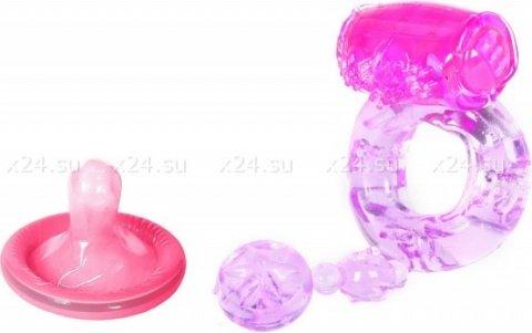 Виброкольцо фиолет