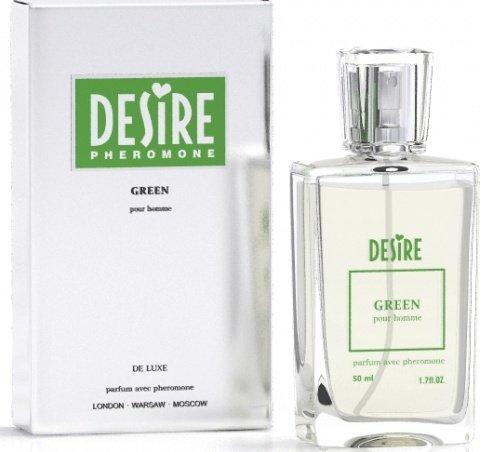 Мужские духи с феромонами desire green 50 мл