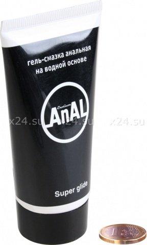 Гель-смазка анальная anal super glide, 50 мл, фото 2