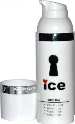 Гель-смазка пролонгатор ICE, диспенсер, 50ml