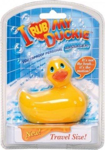 Вибратор утенок I Rub My Duckie travelsize, фото 2