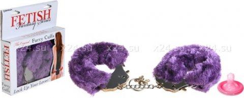 Наручники фиолетовые, фото 2