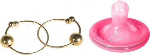 Кольца на соски Bull Rings, золотой