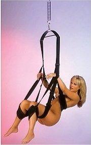 Секс-качели Fantasy Swing черные, фото 2