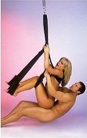 Секс-качели Fantasy Swing черные, фото 3