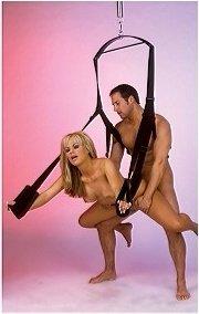 Секс-качели Fantasy Swing черные, фото 4
