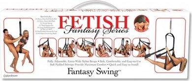 Секс-качели Fantasy Swing черные, фото 6