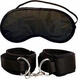 Наручники + маска Heavy Duty Cuffs, фото 4