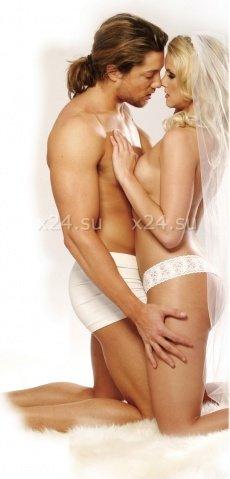 Набор для невесты (вибратор + насадка, шарики анал + вагин, вибр. пуля, кольцо, маска, кубики), фото 3