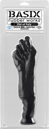Фаллоимитатор-кулак черный 28 см, фото 2