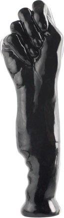Фаллоимитатор-кулак черный 28 см