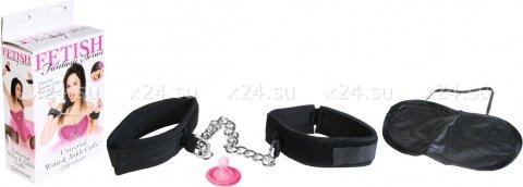 Наручники + маска Universal Wrist & Ankle Cuffs