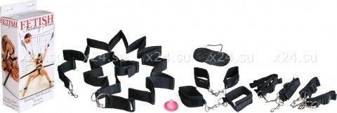 Сексуал. набор для пристег. к кровати + маска, фото 2