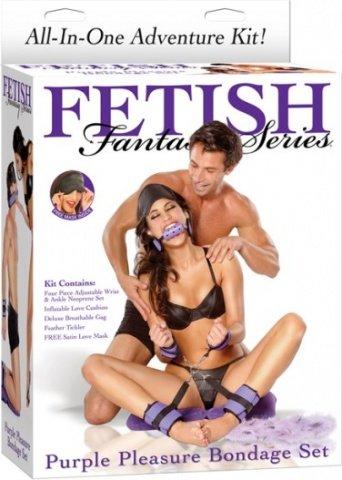 Набор для фетиша Purple Pleasure Bondage Set