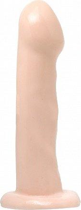 Насадка для трусиков с кольцом телесная basix 6,5in pd4208-21, фото 2