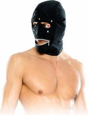 Маска-шлем с отстегивающимися шорами и молнией у рта Zipper Head Hood
