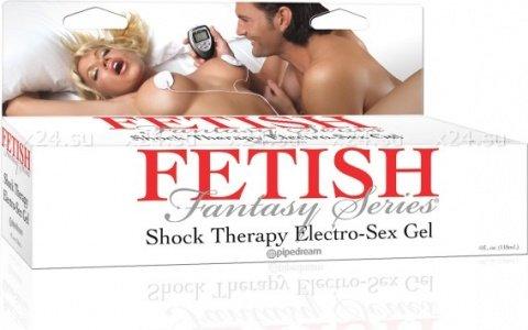 Токопроводящий гель для шокотерапии Shock Therapy Electro-Sex Gel, фото 2