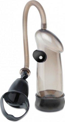 Помпа мужская sure grip с вибрацией черная, фото 2