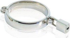 Кольцо эреционное `metal worx` размер xl на замочке с ключами, металлическое в чемодане, фото 2