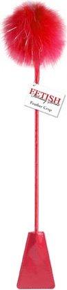 Стек с пуховкой на конце Crop Red, фото 3