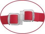 Вибратор поясной для него и для нее 9, 7 режимов вибрации, красный, силикон 23 см, фото 5