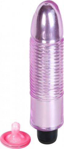 Водонепроницаемый вибратор Jelly Gems 1 18 см, фото 2