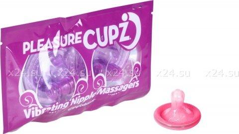 Вибро-присоски на грудь Pleasure Cupz