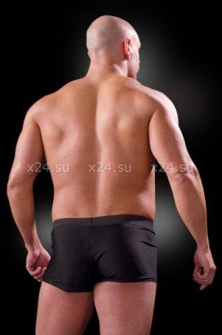 Черные боксеры со съемным клапаном, фото 3