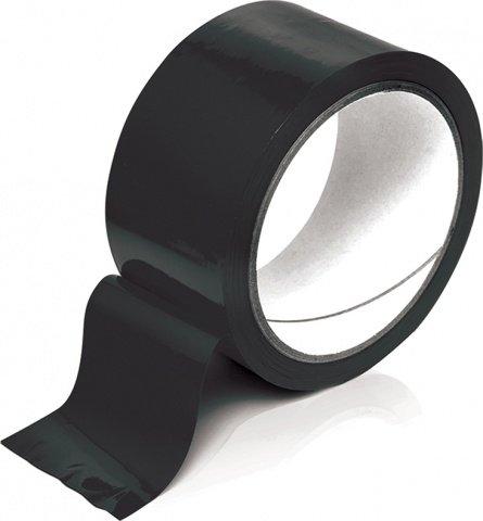 Черный скотч для бондажа Bondage Tape, фото 4
