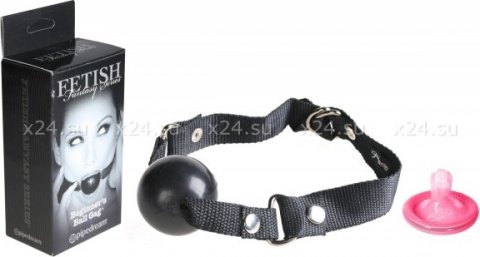 Кляп Fetish Fantasy Series Limited Edition Beginner's Ball Gag черный, фото 2