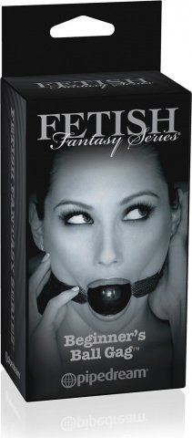 Кляп Fetish Fantasy Series Limited Edition Beginner's Ball Gag черный, фото 3