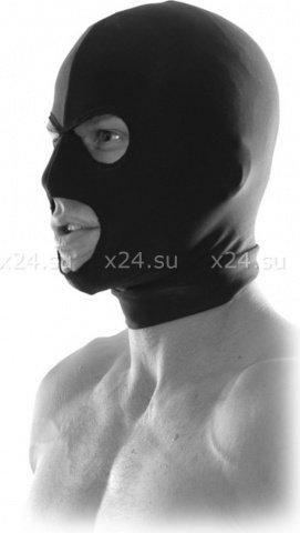 Маска на голову с прорезями для глаз и рта Spandex Hood, фото 2