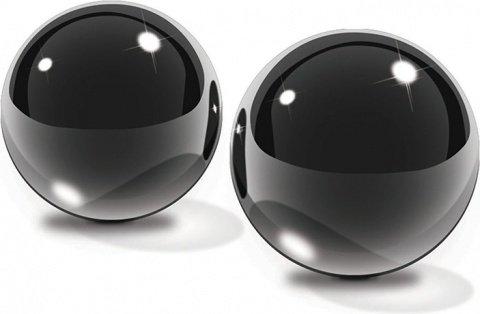 Небольшие шарики из черного стекла Black Glass Ben-Wa Balls