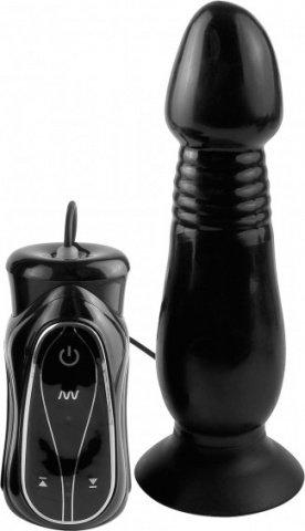 Анальный вибростимулятор. Рабочая зон: 14 см, диам 4,4 см, фото 2