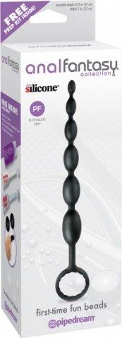 Анальная елочка из силикона. Длина 21 см. Диаметр 2,5 см, фото 2