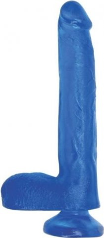 Гелевый фаллоимитатор на присоске TLC Fun Cock 21.5 cm. Jel-Lee 21 см