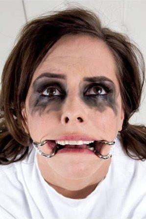 Расширитель для рта с ошейником Asylum Hook Claw Mouth Spreader белый, фото 4