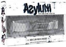 Расширитель для рта с ошейником Asylum Hook Claw Mouth Spreader белый, фото 5