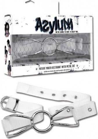 Расширитель для рта Asylum Patient Mouth Restraint белый, фото 3
